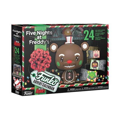 Funko 58458 Advent Calendar: FNAF Blacklight (Psh)