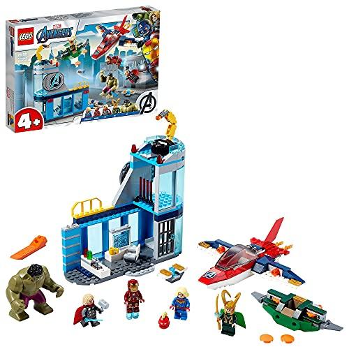 LEGO 76152 Super Heroes Marvel 4+ Avengers – Lokis Rache Set,...