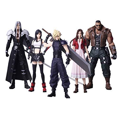 Square Enix Final Fantasy VII Remake Trading Arts Figure 5 Pack...
