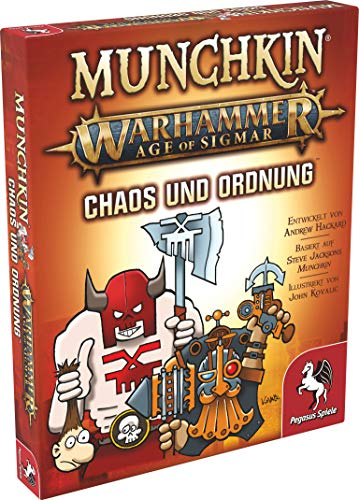 Pegasus Spiele 17022G - Munchkin Warhammer Age of Sigmar: Chaos &...