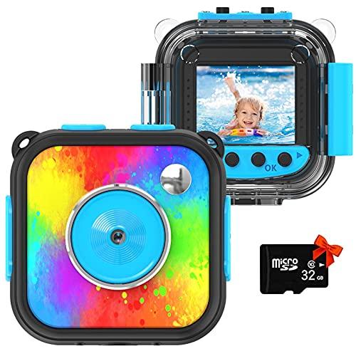 Uleway Kinderkamera,Mini Digital Kamera für Kinder,Action...