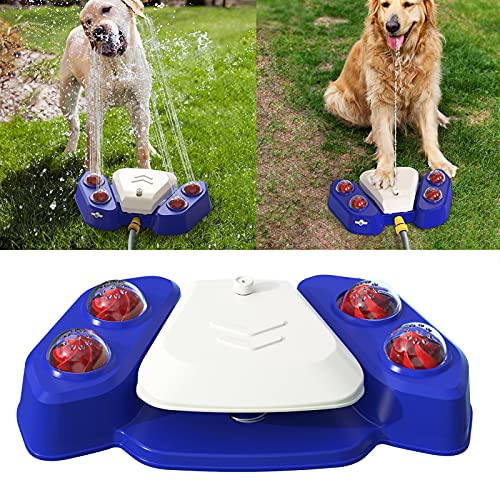 XIAPIA Hundespielzeug Wasserspielzeug für Große und Kleine...