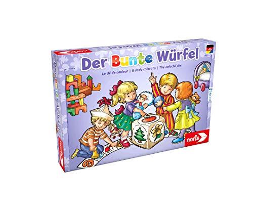 Noris 606011289 Der Bunte Würfel, der fröhliche und kindgerechte Würfelspiel...