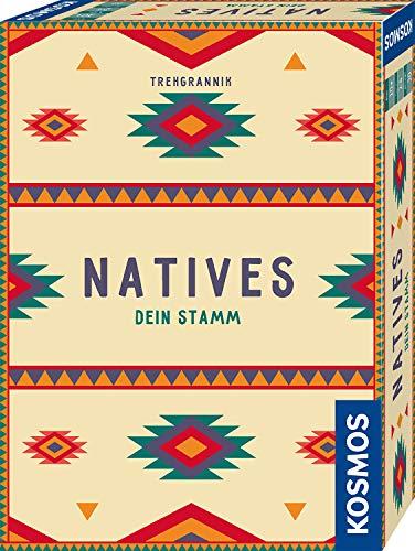 KOSMOS 695033 Natives - Dein Stamm, Kompaktes Kartenspiel mit...