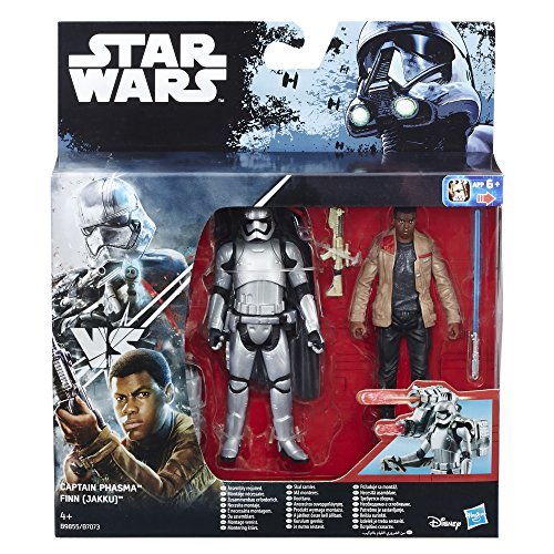 Hasbro Star Wars B9855ES0 - Finn Jakku vs Captain Phasma,...