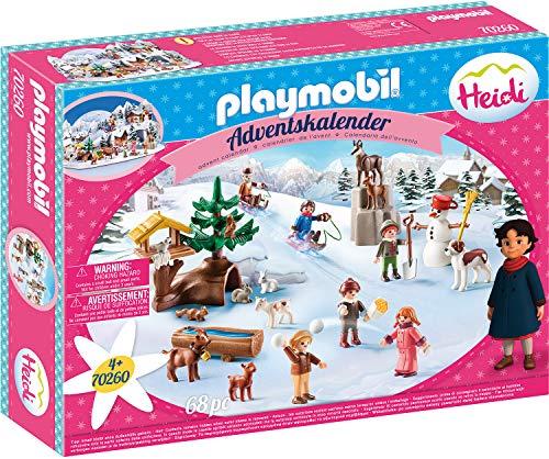 PLAYMOBIL Adventskalender 70260 Heidis Winterwelt, Für Kinder ab...