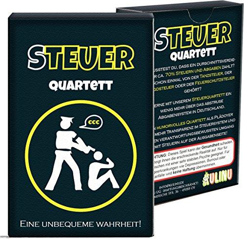 Quartett KU1337 - Steuerquartett, Das Kartenspiel für Erwachsene...