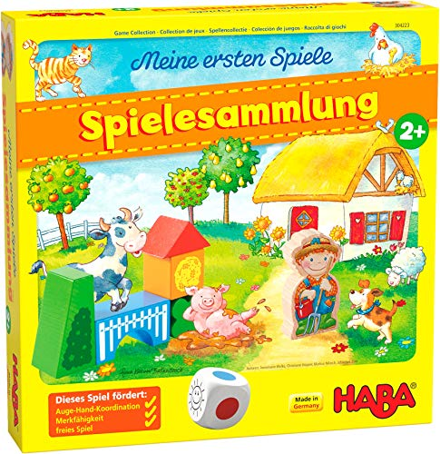 HABA 304223 - Meine ersten Spiele – Spielesammlung, 10 erste...