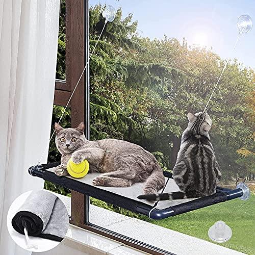 MQUPIN Fenster Katzenhängematte, Katzen Hängematte Fenster mit...