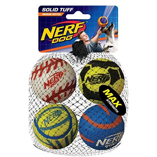 Nerf Dog Hundespielzeug Tennisbälle, maxi stark, massiver Ball...