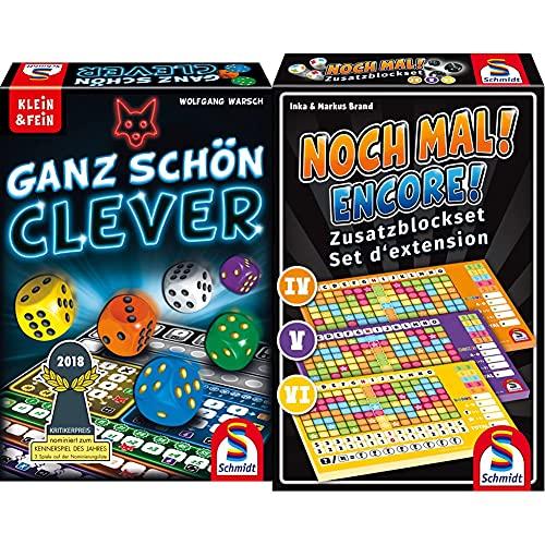 Schmidt Spiele 49340 Ganz Schön Clever, Würfelspiel aus der...