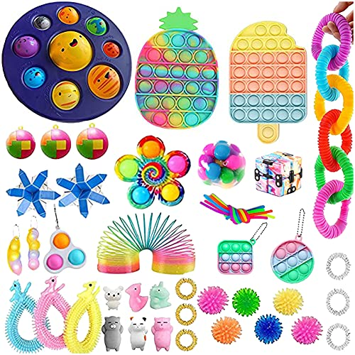 Weihnachten Fidget Toy Set for Anxiety Anti Stress Pop Bubble Toy...