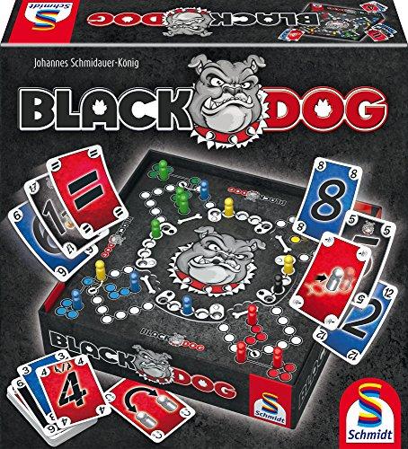 Schmidt Spiele 49323 Black DOG, Familienspiel