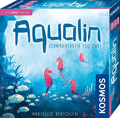 KOSMOS 691554 Aqualin - Schwarmtaktik für zwei, Brettspiel für...