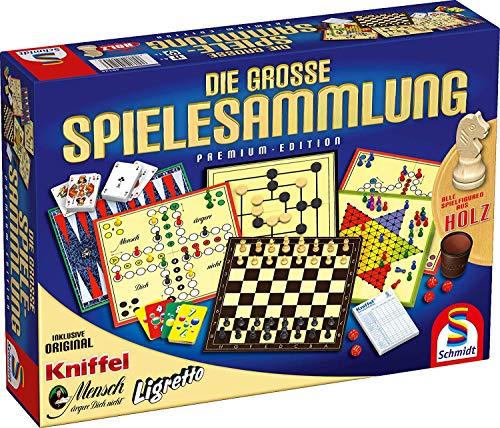 Schmidt Spiele 49125 Die Große Spielesammlung, alle Spielfiguren...