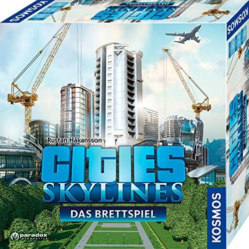 KOSMOS 691462 - Cities: Skylines, Das Brettspiel zum PC-Spiel,...