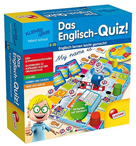 Lisciani DE48892 Quiz, Lernspiel für Kinder von 5-7 Jahren,...