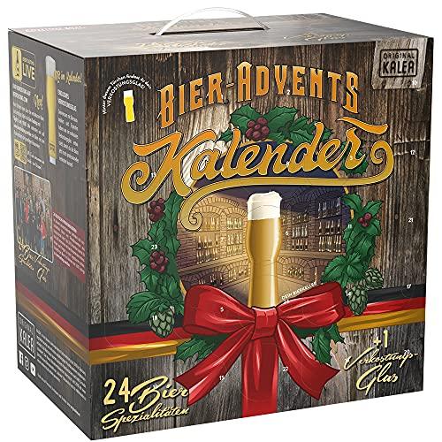 KALEA Bier-Adventskalender, 24 x 0,33 L Bierspezialitäten von...