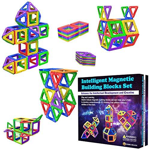Desire Deluxe Magnetische Bausteine Magnet Montessori Spielzeug...
