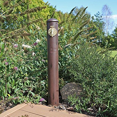 Wasserzapfstelle WZS1 Wasserzapfsäule für Garten Stand Wasser...