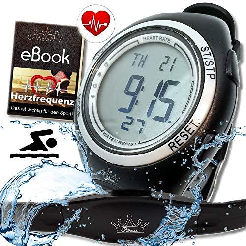 bestbeans© Heartbeat Puls-Uhr mit Brustgurt Herzfrequenz-Messung...