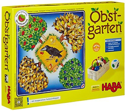 Haba 4170 - Obstgarten Spannendes Würfelspiel, mit 40 Früchten...