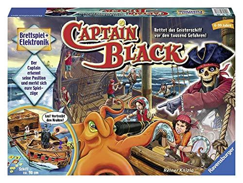 Ravensburger 22293 - Captain Black - Elektronisches Brettspiel...