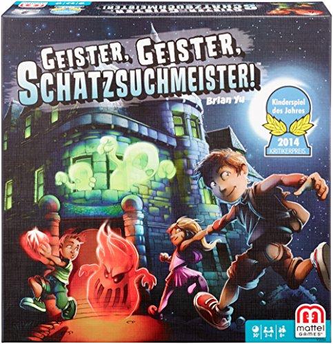 Mattel Games Y2554 - Geister Geister Schatzsuchmeister,...