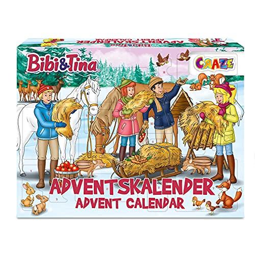 CRAZE Adventskalender BIBI & Tina Weihnachtskalender B&T für...