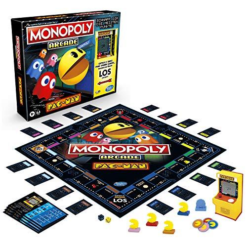 Monopoly Arcade Pac-Man, Monopoly Brettspiel für Kinder ab 8...