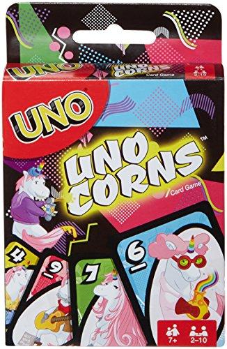 Mattel Games FNC46 - UNO (Uni-) Corns Einhorn Kartenspiel...