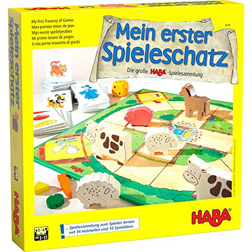 Haba 4278 - Mein erster Spieleschatz Die große...