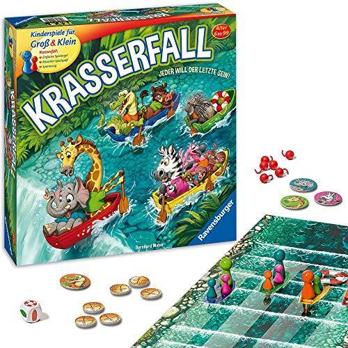 Ravensburger - 20569 - Krasserfall - rasantes Brettspiel für...