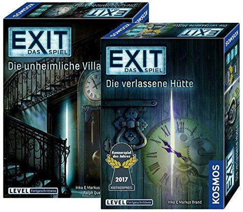 Exit Kosmos Spiele 694036 unheimliche Villa + Kosmos Spiele...