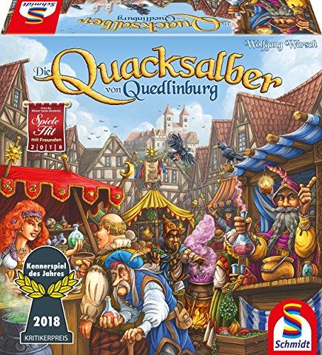 Schmidt Spiele 49341 Die Quacksalber von Quedlinburg, Kennerspiel...
