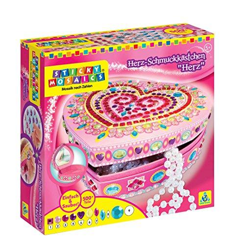 Windworks 620104 Sticky Mosaics: Heart Box