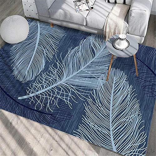 WJTHH Modern Hauptdekoration Rug,Polyester,Teppich für...