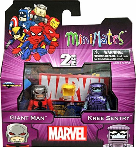 Marvel Minimates Doppelpack Serie 44: Giant Man & Kree Sentry