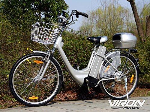 Viron Elektrofahrrad 250W / 36V E-Bike 26' Zoll Pedelec Fahrrad...