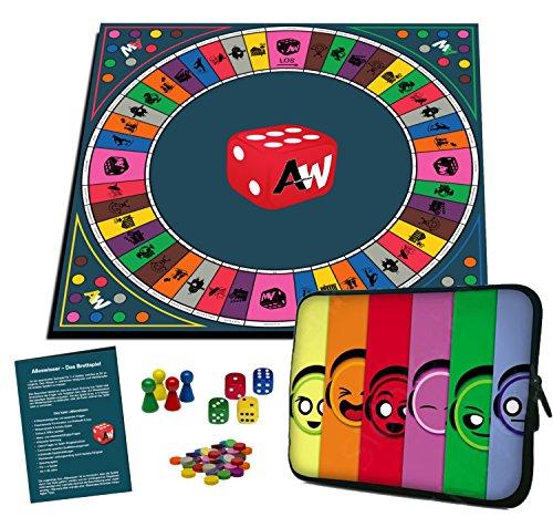 Alleswisser - Das Brettspiel, interaktives Quiz-, Wissens- und...