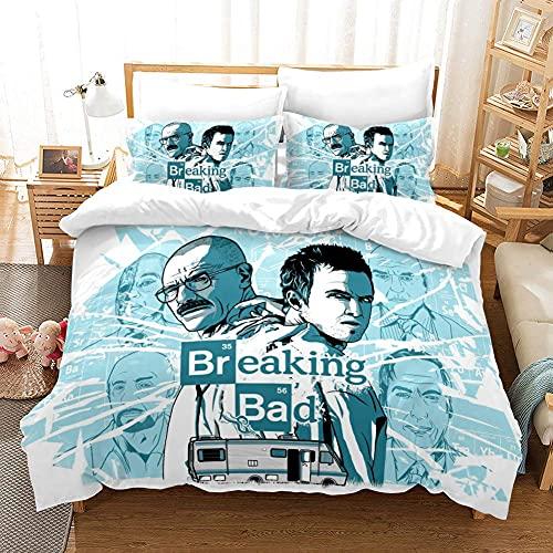 Amacigana Breaking Bad Bettbezug Bettwäsche Set - Bettbezug und...