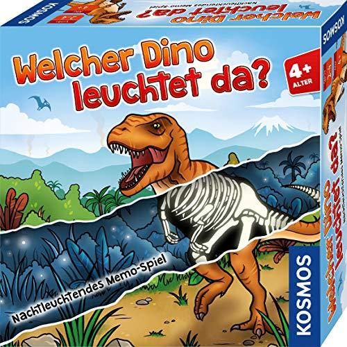 Kosmos 680701 Welcher Dino leuchtet da? Memo-Spiel, leuchtet im...