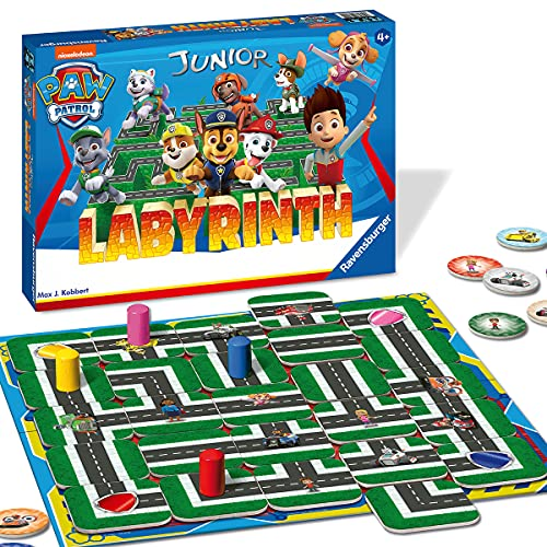 Ravensburger Kinderspiele Paw Patrol Labyrinth, 20799, das...
