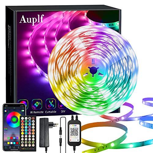 LED Strip 20M, 24V 6A LED Streifen RGB 5050, Farbwechsel Led...