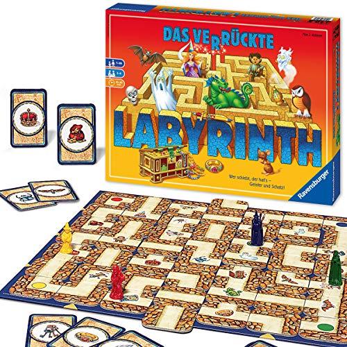 Ravensburger Familienspiel Das verrückte Labyrinth, Kinder- und...