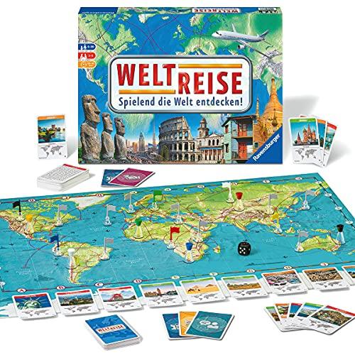 Ravensburger 26888 26332 - Weltreise- Familienklassiker ab 8...