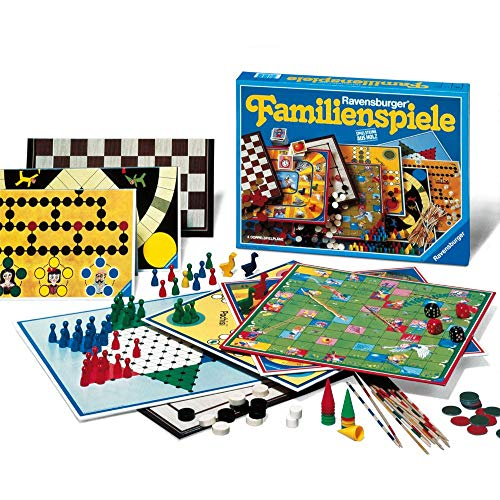 Ravensburger 01315 - Ravensburger Familienspiele - Spielesammlung...