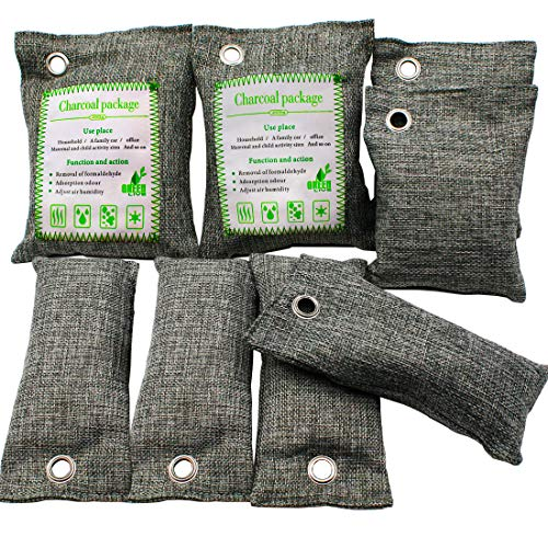 Bamboo charcoal air freshener bag dehumidifier car natural air...