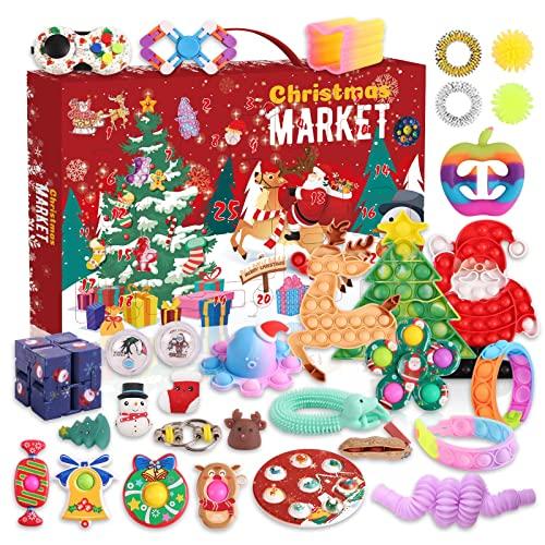 MLYX Fidget Adventskalender 2021 Spielzeug für Kinder,...