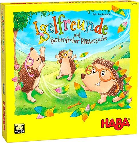 HABA 305587 - Igelfreunde, Würfelspiel für 2-4 Spieler ab 3...